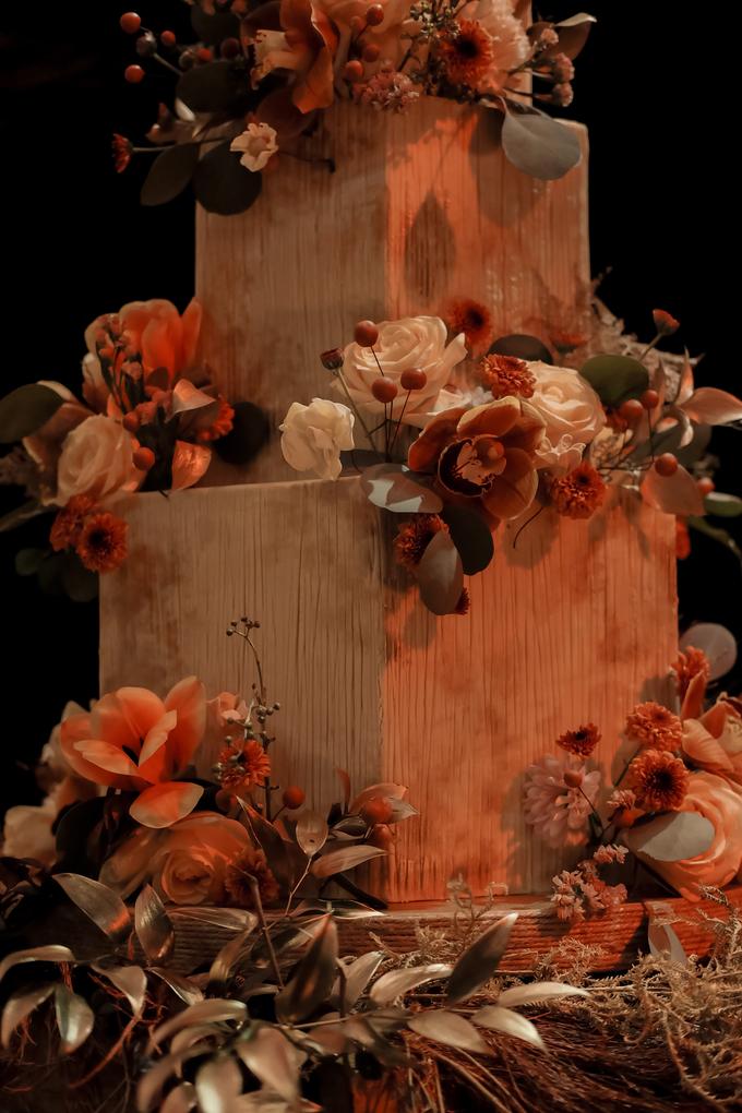The wedding of Fritz & Jessline  by KAIA Cakes & Co. - 031