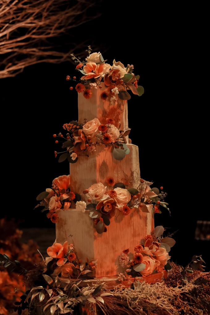 The wedding of Fritz & Jessline  by KAIA Cakes & Co. - 032