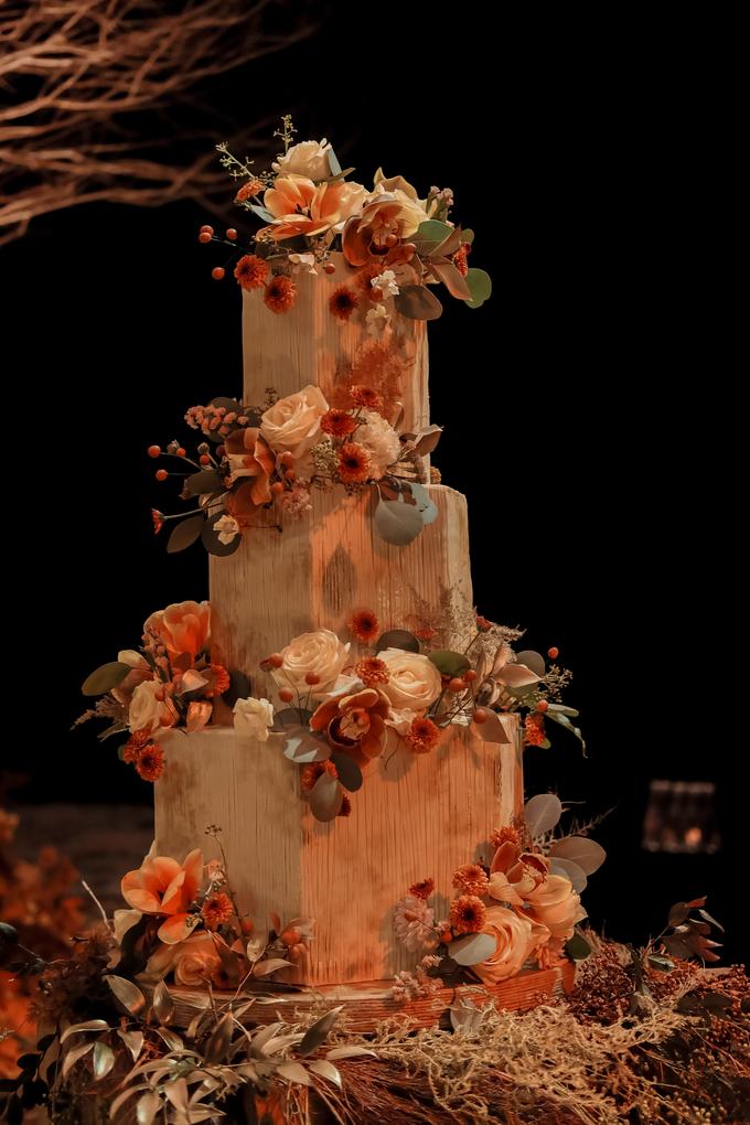 The wedding of Fritz & Jessline  by KAIA Cakes & Co. - 034