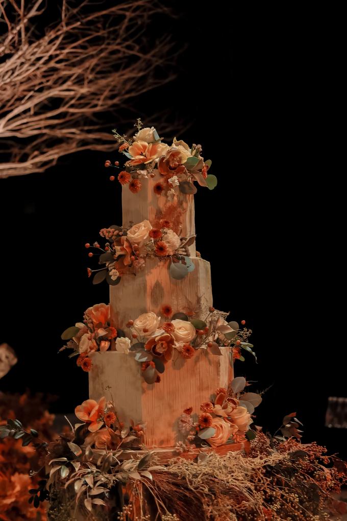 The wedding of Fritz & Jessline  by KAIA Cakes & Co. - 035