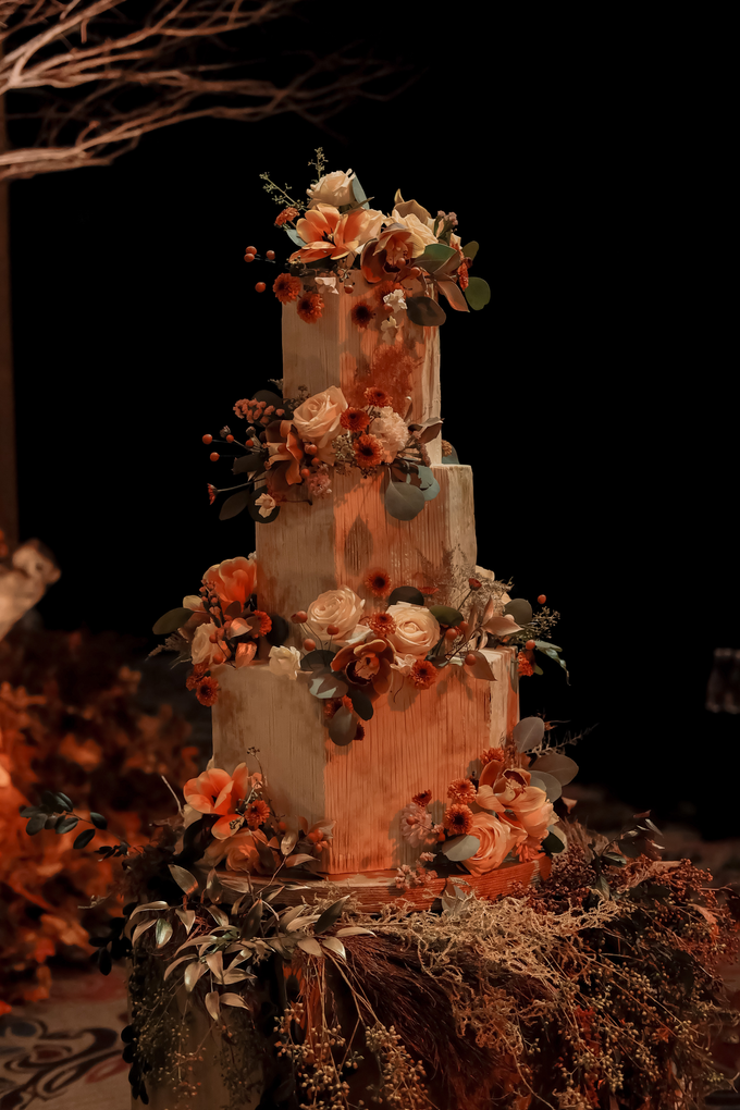 The wedding of Fritz & Jessline  by KAIA Cakes & Co. - 036