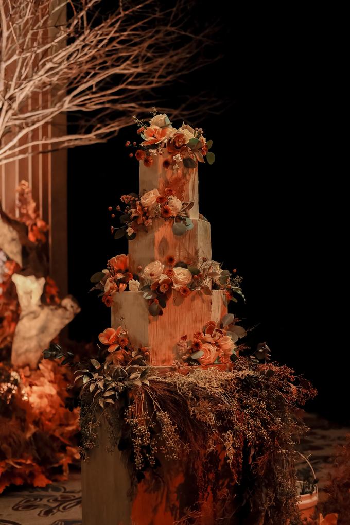 The wedding of Fritz & Jessline  by KAIA Cakes & Co. - 037