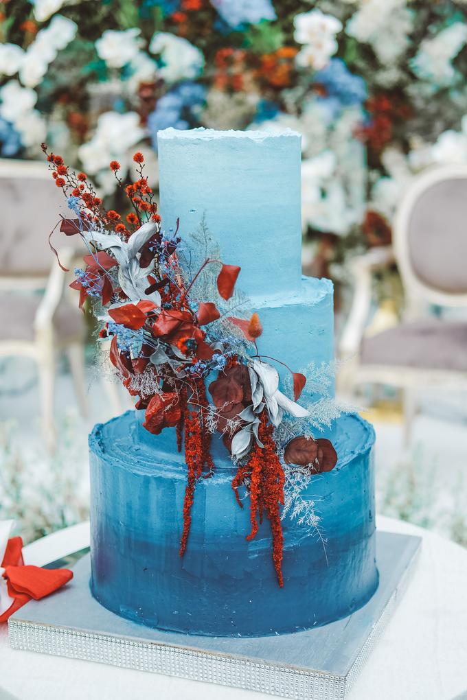 The wedding of Tika & Angga by KAIA Cakes & Co. - 001