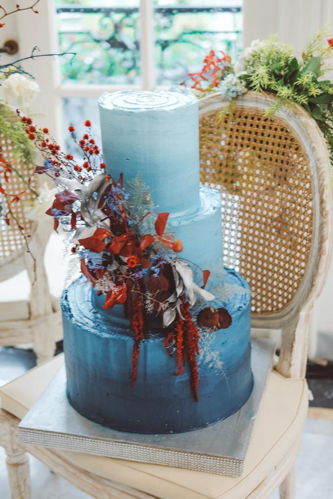 The wedding of Tika & Angga by KAIA Cakes & Co. - 011