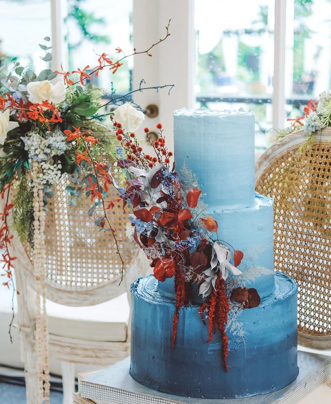 The wedding of Tika & Angga by KAIA Cakes & Co. - 014