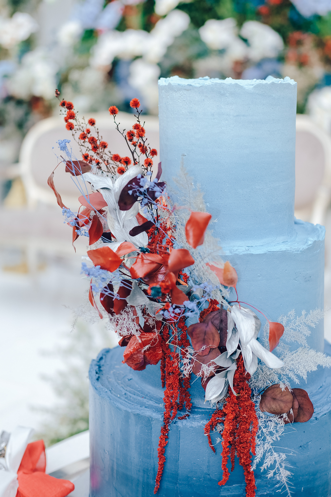 The wedding of Tika & Angga by KAIA Cakes & Co. - 015