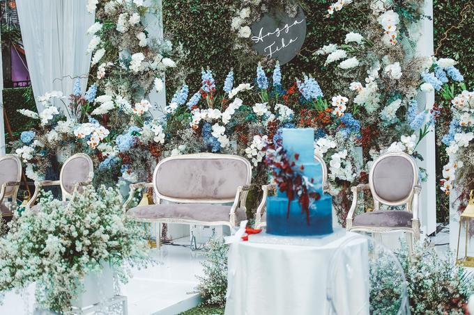 The wedding of Tika & Angga by KAIA Cakes & Co. - 016