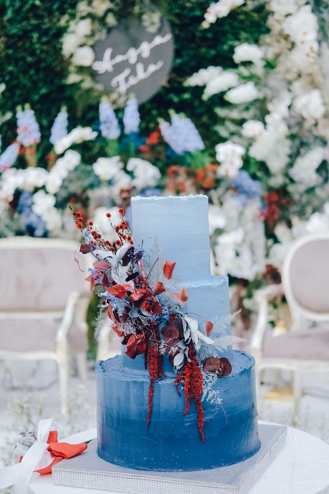 The wedding of Tika & Angga by KAIA Cakes & Co. - 018