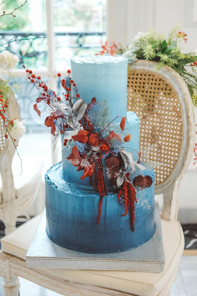 The wedding of Tika & Angga by KAIA Cakes & Co. - 020