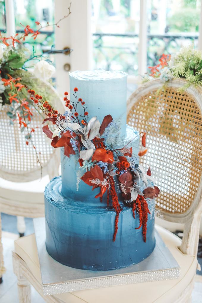 The wedding of Tika & Angga by KAIA Cakes & Co. - 023