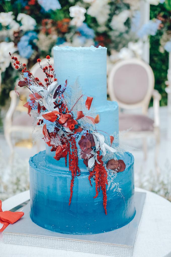 The wedding of Tika & Angga by KAIA Cakes & Co. - 026