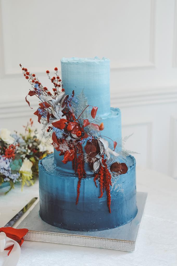 The wedding of Tika & Angga by KAIA Cakes & Co. - 027