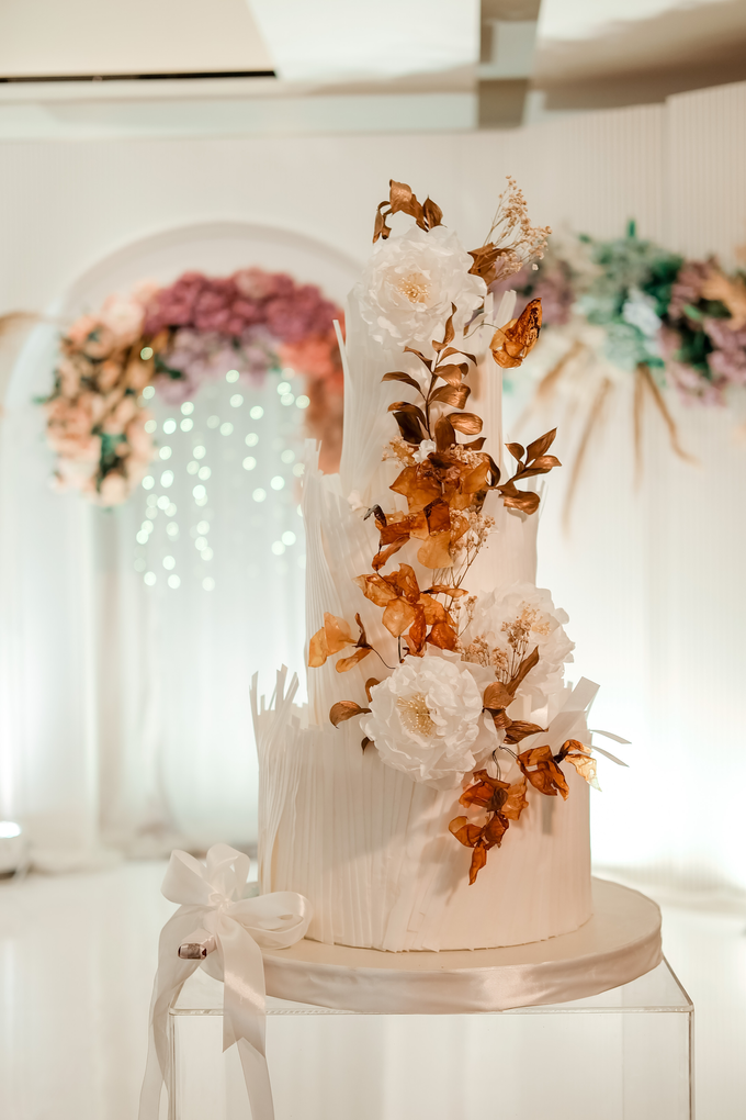 The wedding of Andrew & Yunni by KAIA Cakes & Co. - 001