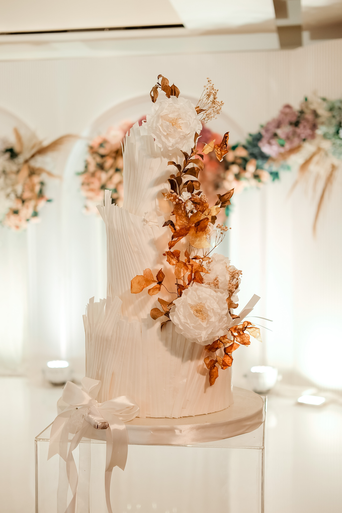 The wedding of Andrew & Yunni by KAIA Cakes & Co. - 019