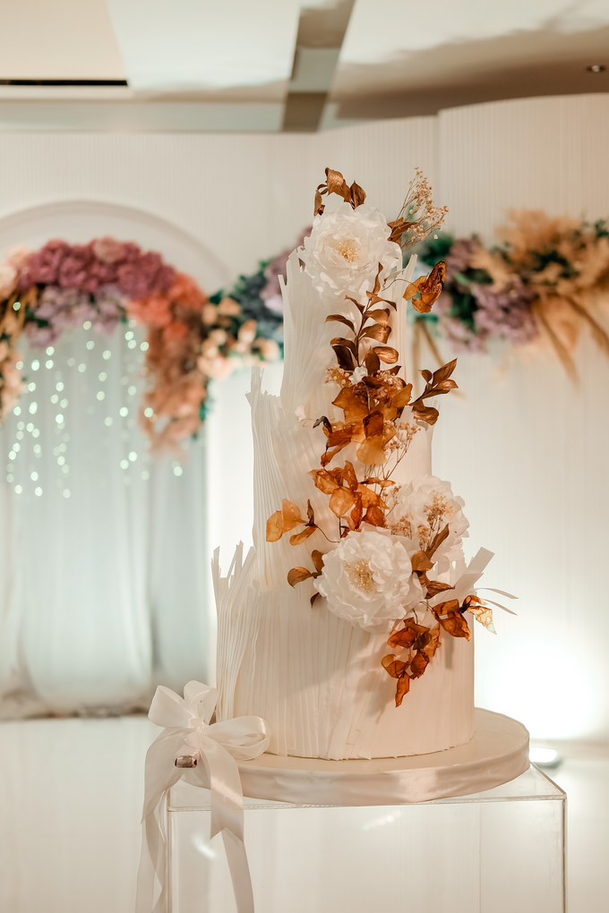 The wedding of Andrew & Yunni by KAIA Cakes & Co. - 025