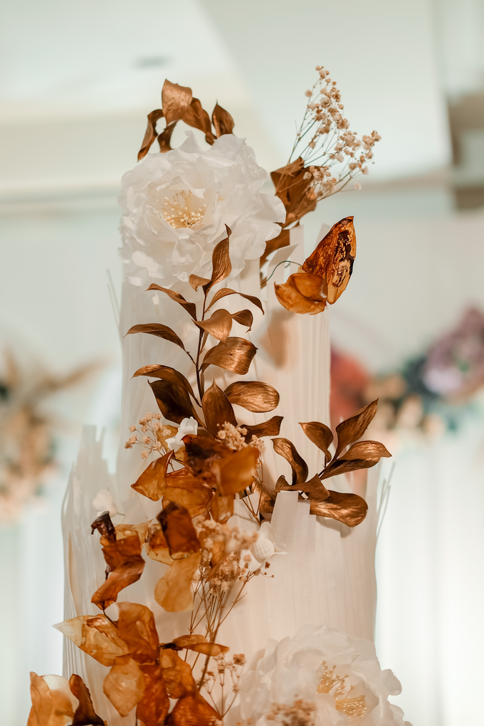 The wedding of Andrew & Yunni by KAIA Cakes & Co. - 026