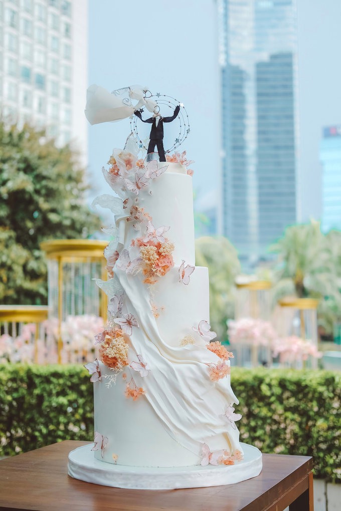 The wedding of Michael & Holivia by KAIA Cakes & Co. - 001
