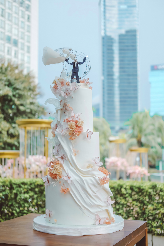 The wedding of Michael & Holivia by KAIA Cakes & Co. - 004