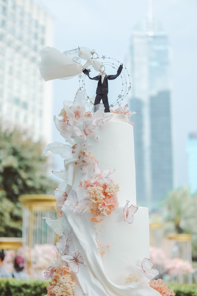 The wedding of Michael & Holivia by KAIA Cakes & Co. - 005