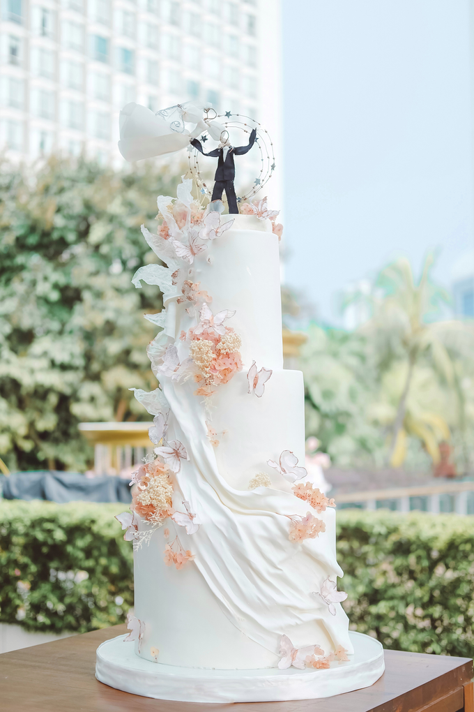 The wedding of Michael & Holivia by KAIA Cakes & Co. - 008