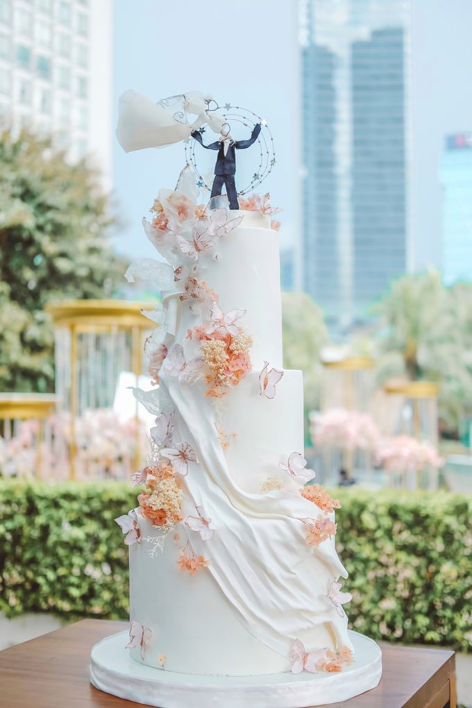 The wedding of Michael & Holivia by KAIA Cakes & Co. - 018