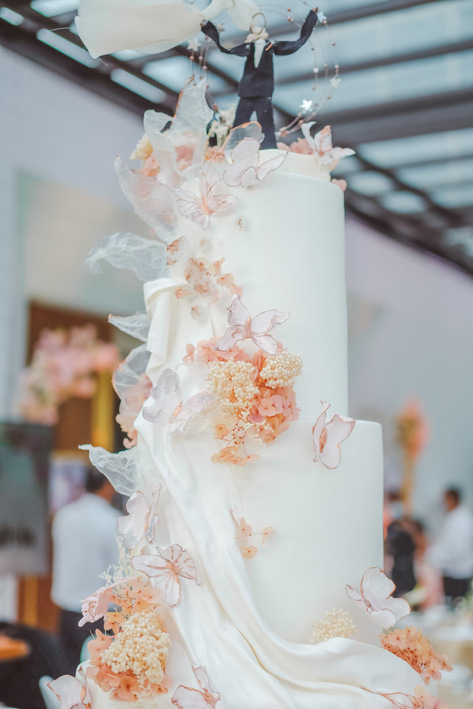 The wedding of Michael & Holivia by KAIA Cakes & Co. - 019