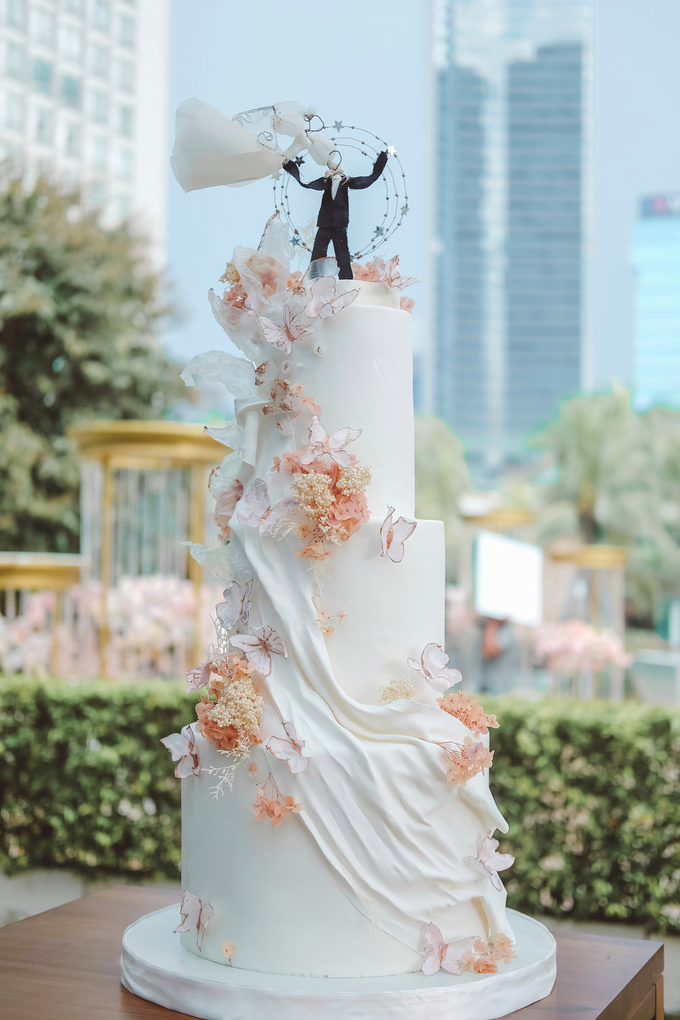 The wedding of Michael & Holivia by KAIA Cakes & Co. - 020
