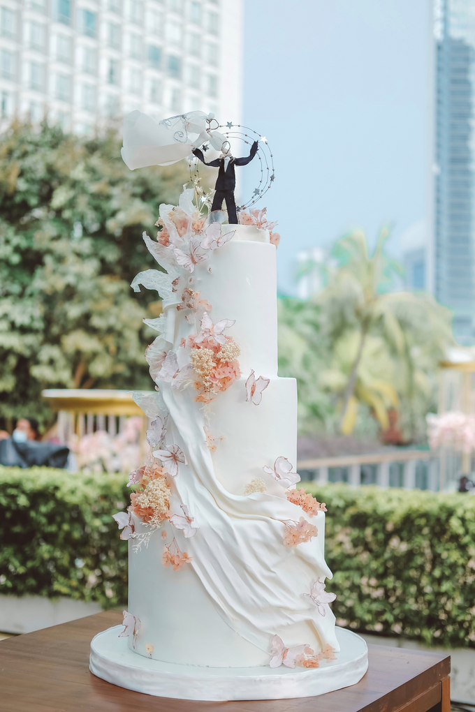 The wedding of Michael & Holivia by KAIA Cakes & Co. - 021