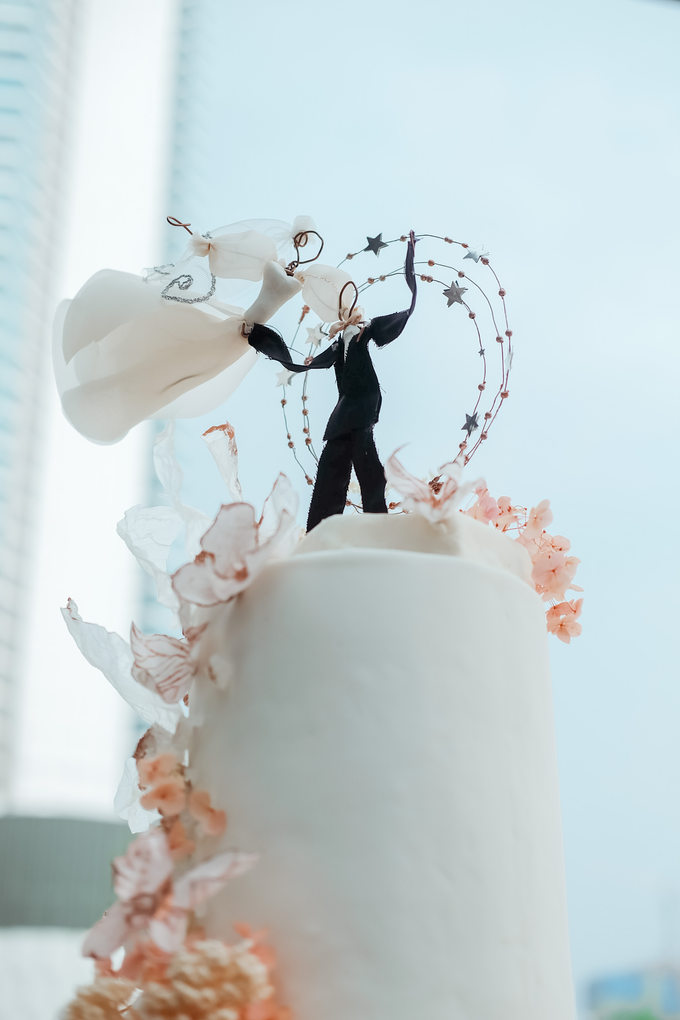The wedding of Michael & Holivia by KAIA Cakes & Co. - 022