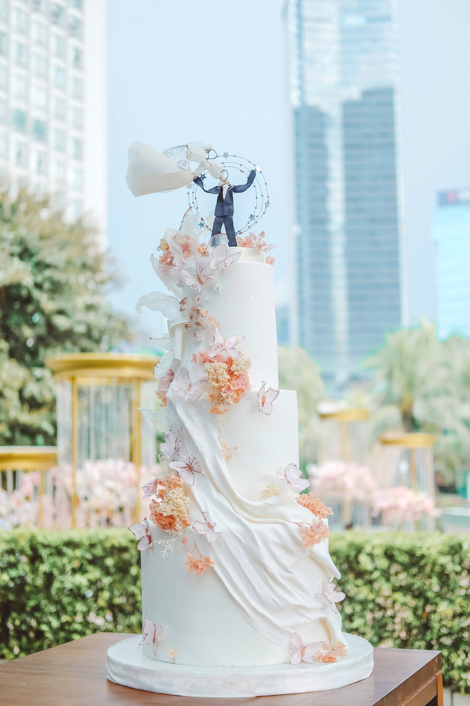 The wedding of Michael & Holivia by KAIA Cakes & Co. - 023