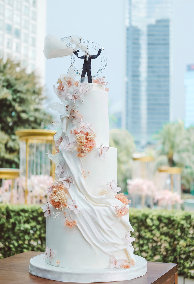 The wedding of Michael & Holivia by KAIA Cakes & Co. - 026