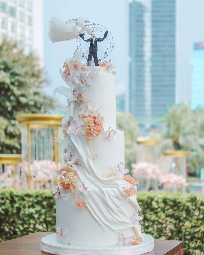 The wedding of Michael & Holivia by KAIA Cakes & Co. - 031