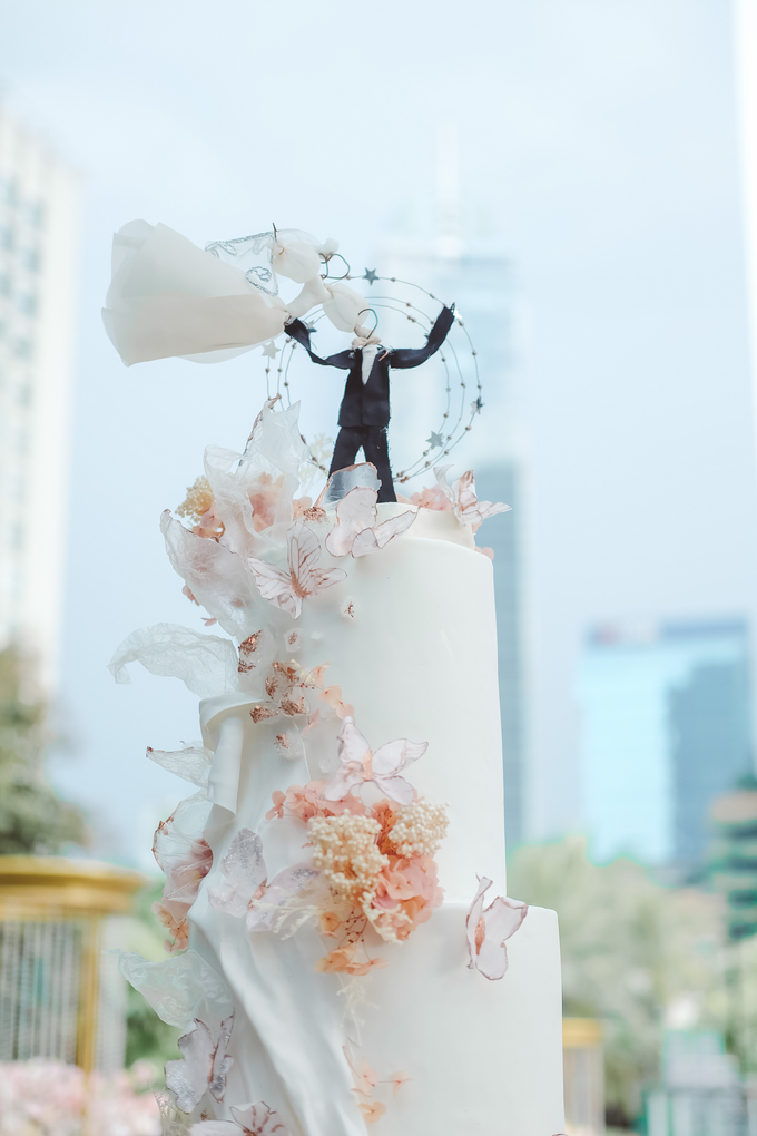The wedding of Michael & Holivia by KAIA Cakes & Co. - 032