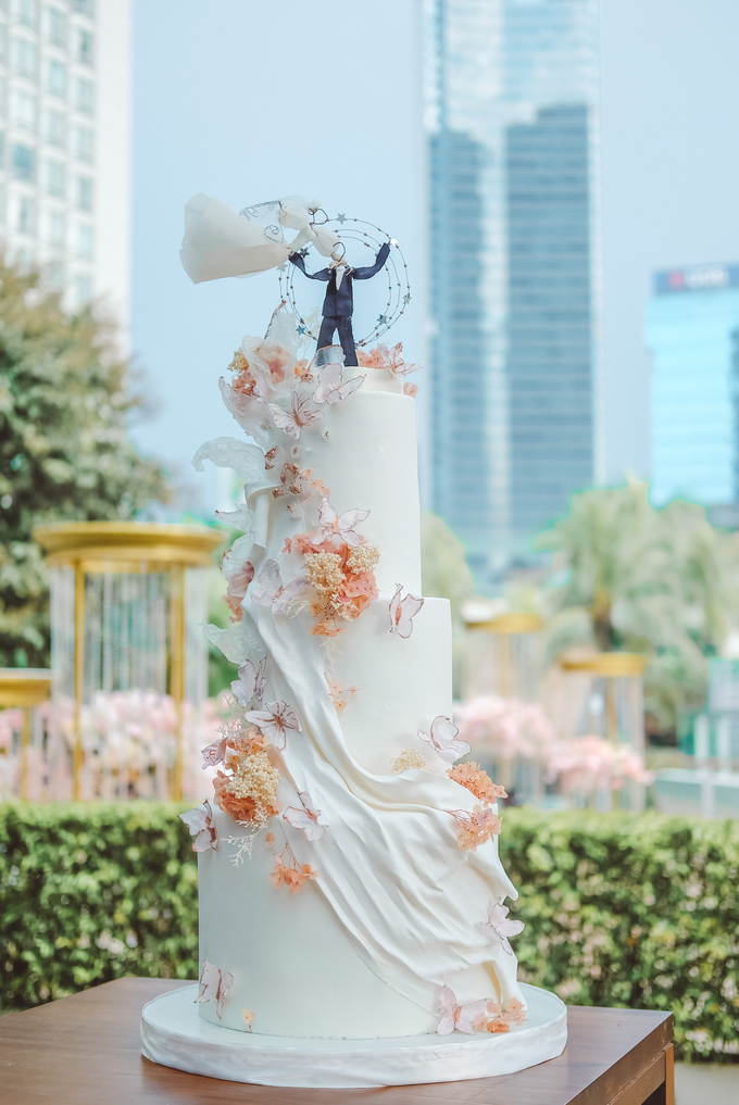 The wedding of Michael & Holivia by KAIA Cakes & Co. - 033