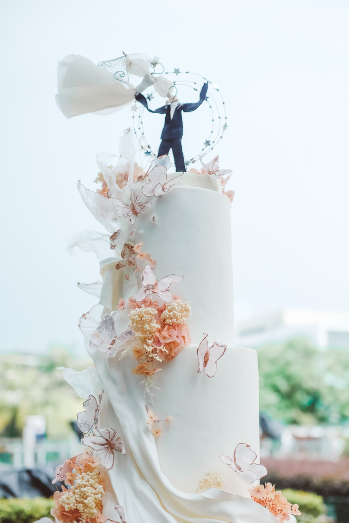 The wedding of Michael & Holivia by KAIA Cakes & Co. - 039