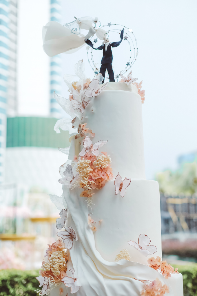 The wedding of Michael & Holivia by KAIA Cakes & Co. - 041