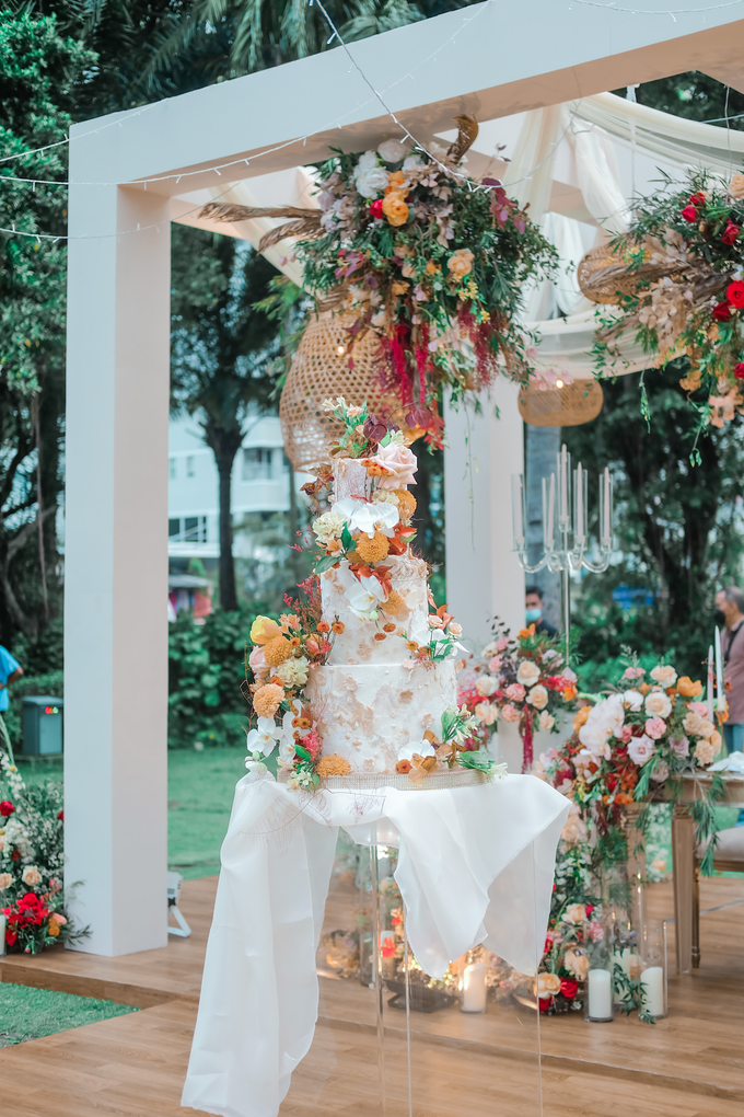 The wedding of Anton & Hanna by KAIA Cakes & Co. - 036