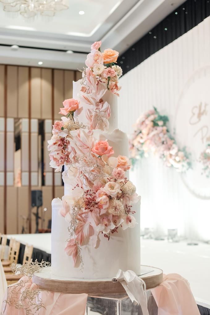 The wedding of Edbert & Priscilia by KAIA Cakes & Co. - 008