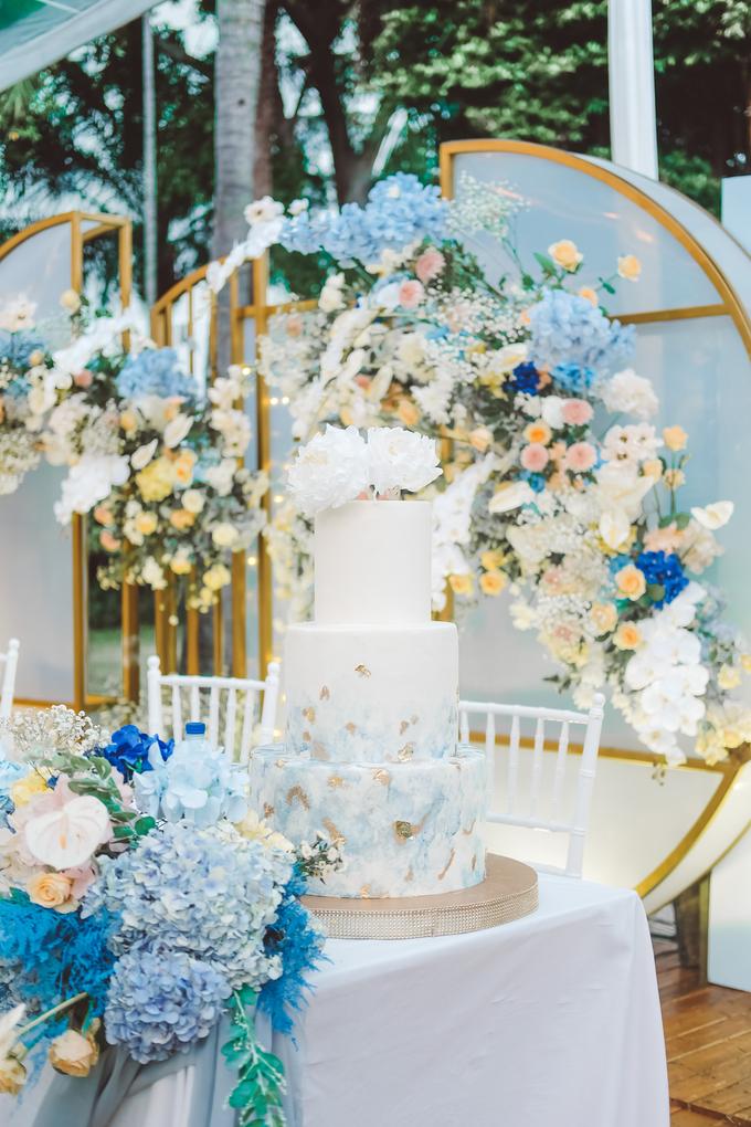 The wedding of  Lukito & Ria by KAIA Cakes & Co. - 010