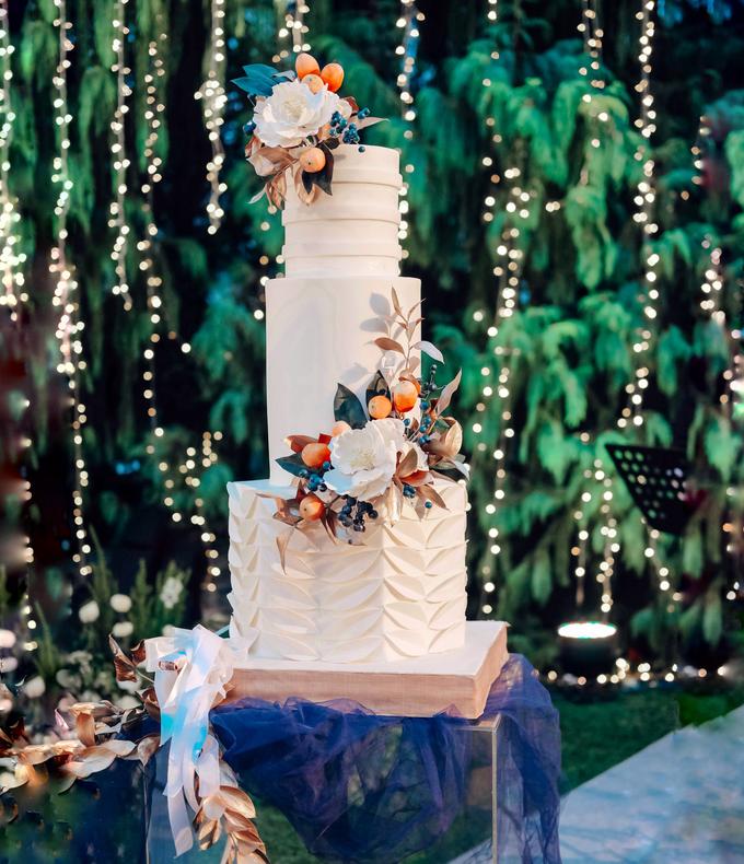 The wedding of Nico & Silvia by KAIA Cakes & Co. - 001