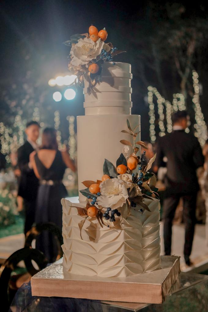 The wedding of Nico & Silvia by KAIA Cakes & Co. - 015