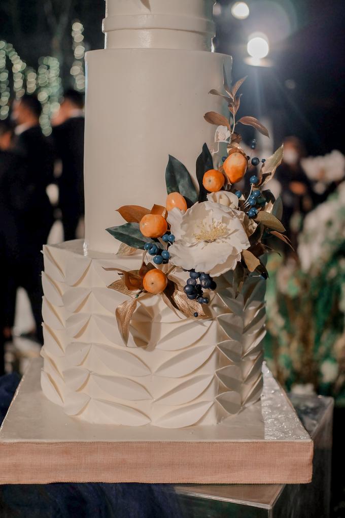 The wedding of Nico & Silvia by KAIA Cakes & Co. - 021