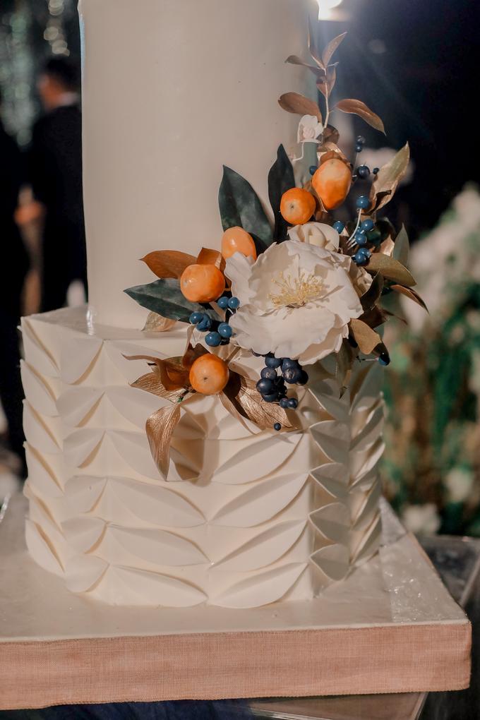 The wedding of Nico & Silvia by KAIA Cakes & Co. - 024