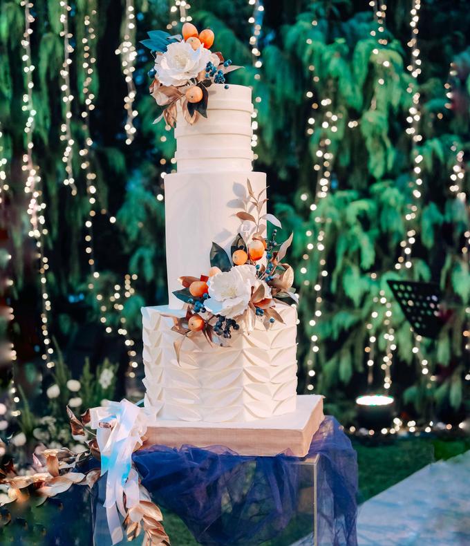The wedding of Nico & Silvia by KAIA Cakes & Co. - 026