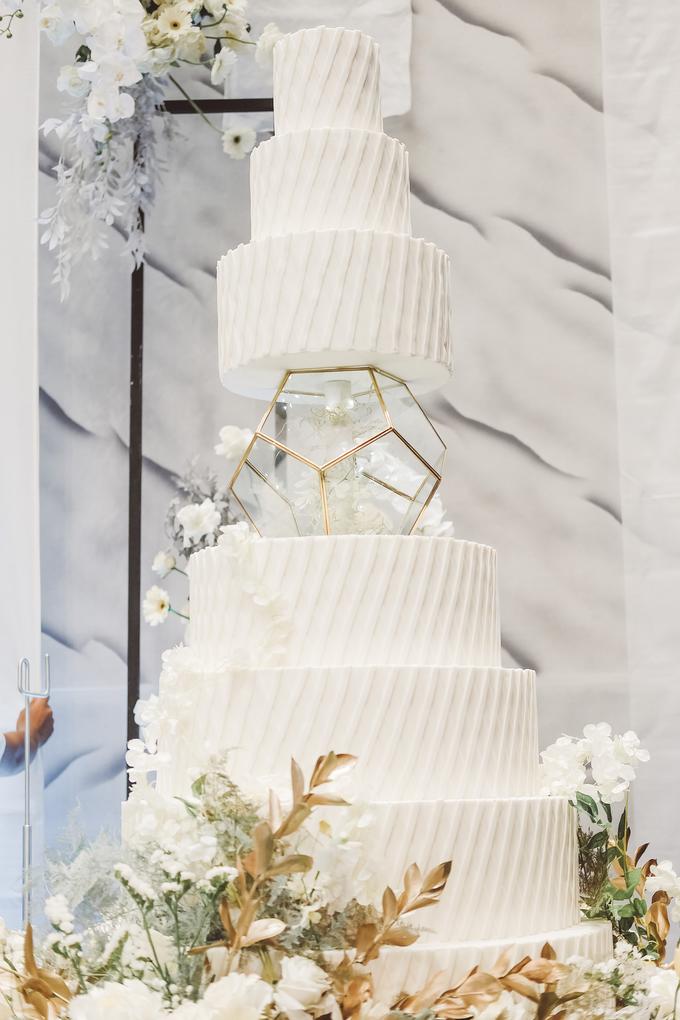 The wedding of David & Levana by KAIA Cakes & Co. - 002