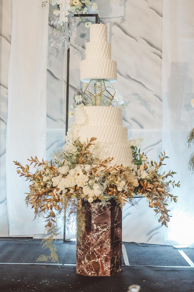 The wedding of David & Levana by KAIA Cakes & Co. - 006