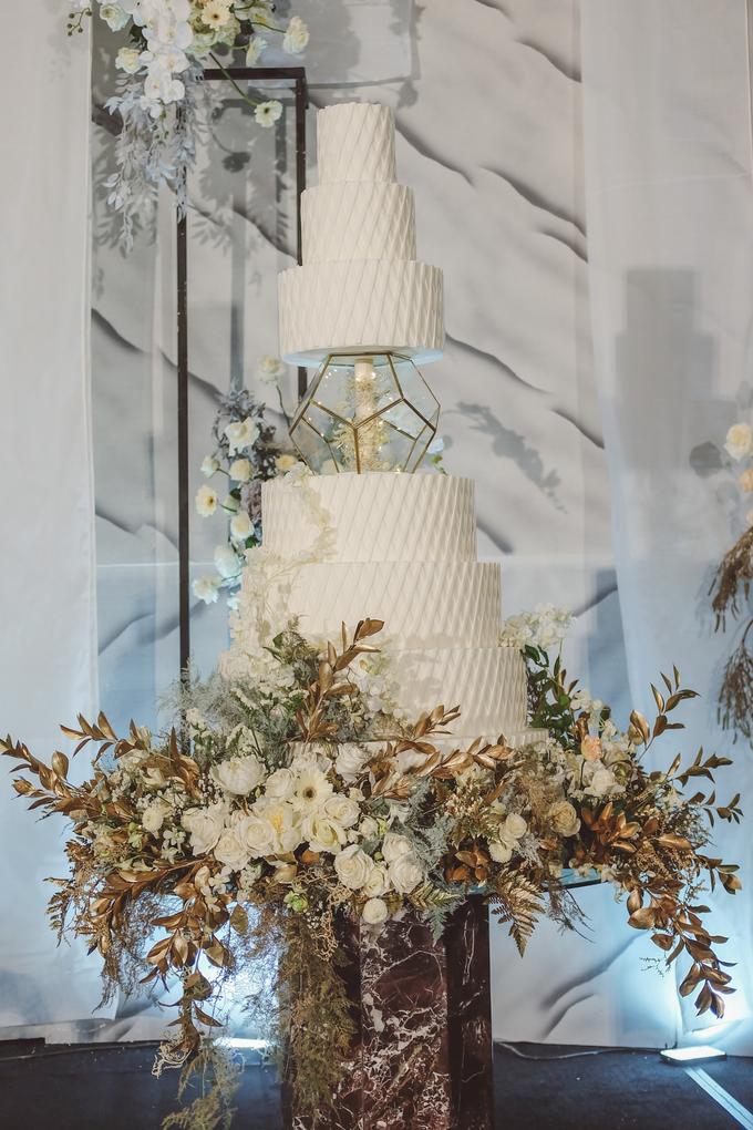 The wedding of David & Levana by KAIA Cakes & Co. - 009