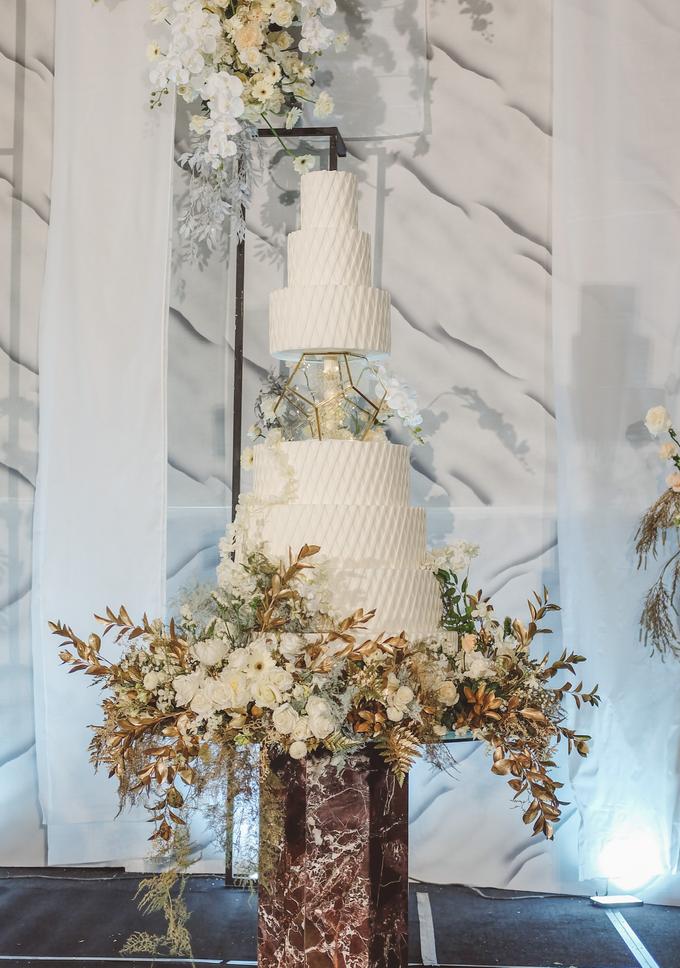 The wedding of David & Levana by KAIA Cakes & Co. - 011