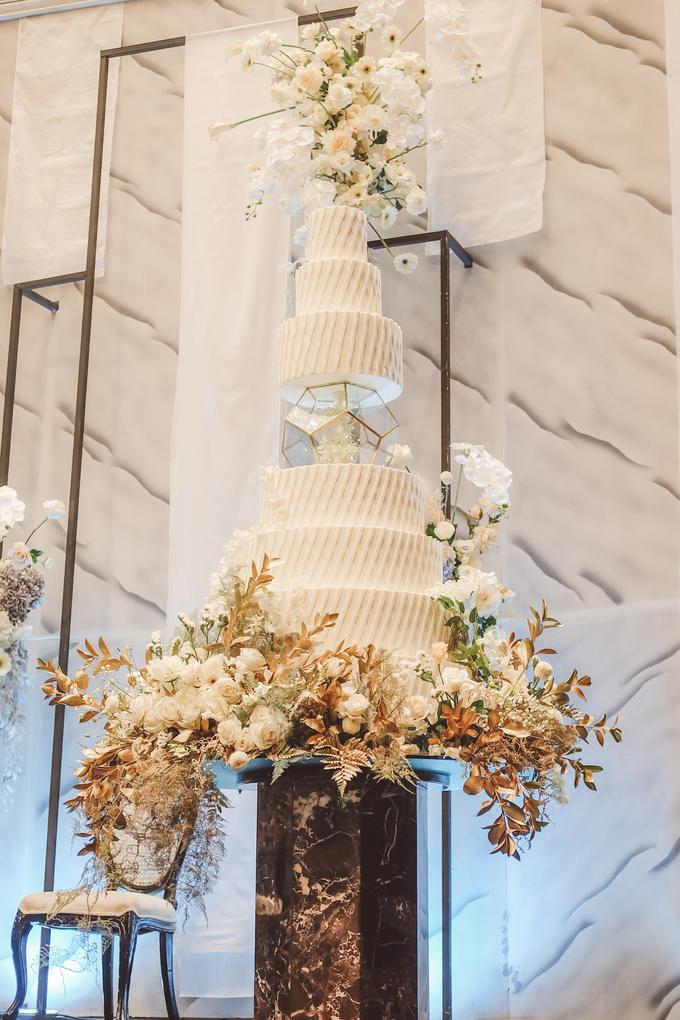 The wedding of David & Levana by KAIA Cakes & Co. - 020