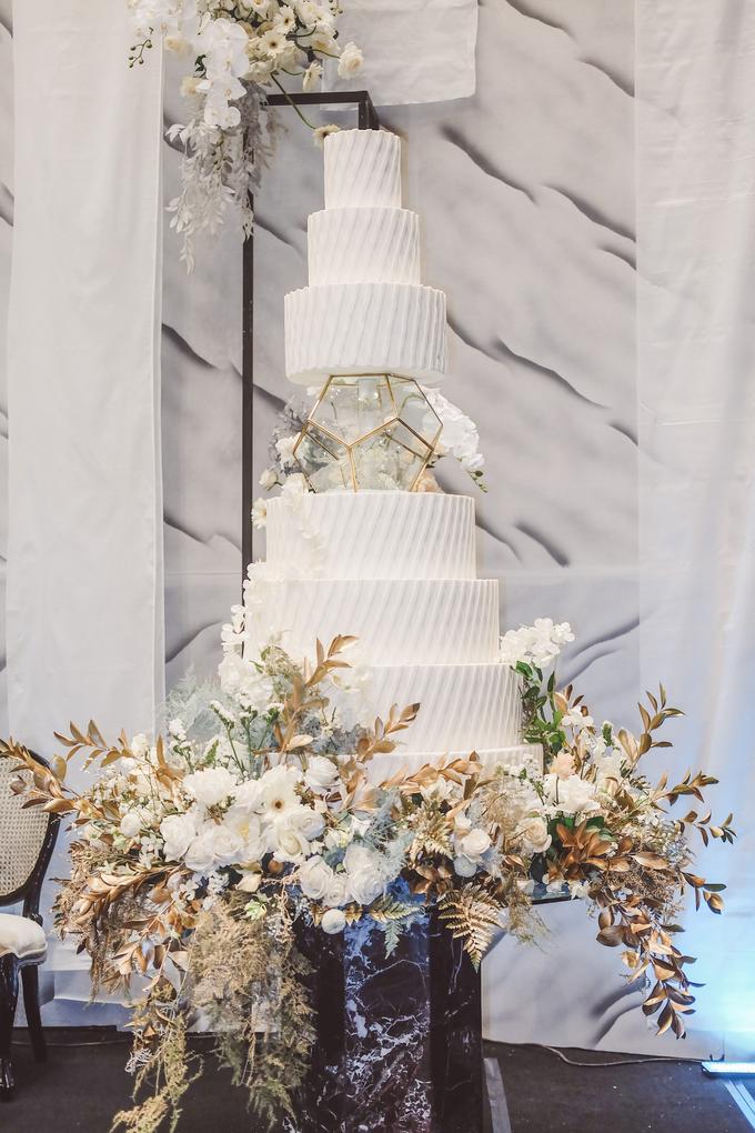 The wedding of David & Levana by KAIA Cakes & Co. - 021